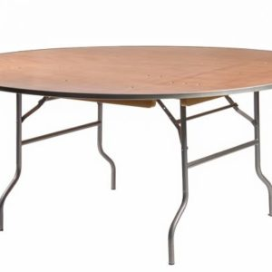 "72"" Round Banquet Table"