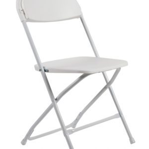 Folding Chair (Poly White)
