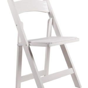 Resin White Garden Chair