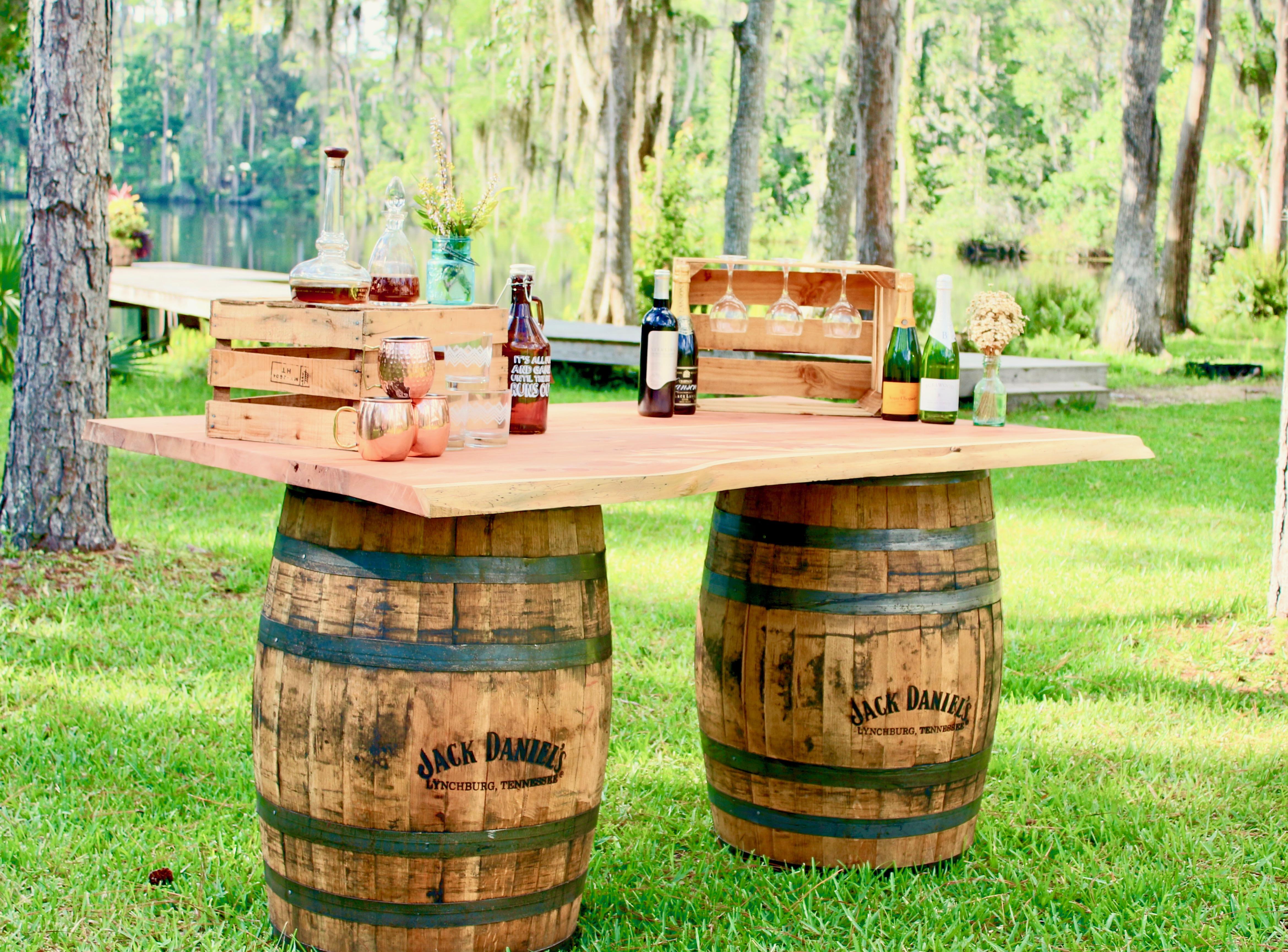 Cerdar Bar Top Whiskey Barrell(Bars)