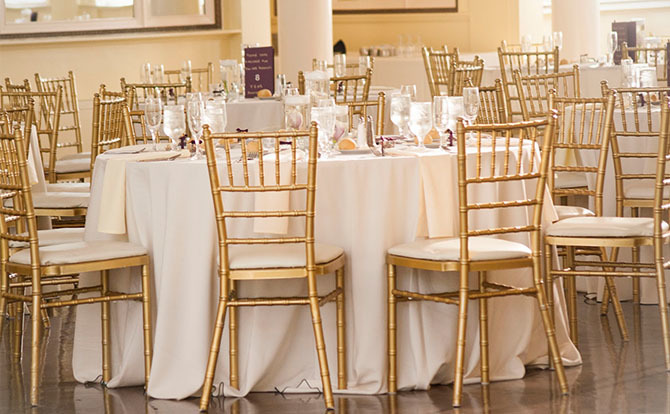 Gold Chiavari Chairs(Seating)