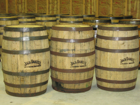 Jack Daniels Whiskey Barrels(Decore)